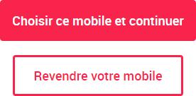 Option Revendre votre mobile