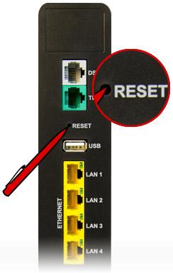 Utiliser un stilo pour cliquer sur le bouton reset