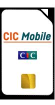 T�l�phone CIC Mobile Carte sim