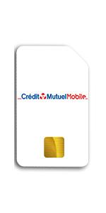 Téléphone Crédit Mutuel Mobile Carte SIM