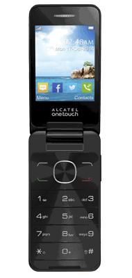 T�l�phone Alcatel 20.12 chocolat