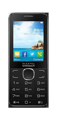 Téléphone Alcatel 20.07 gris anthracite Comme neuf