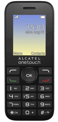 Téléphone Alcatel 10.16 noir Comme neuf