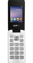 Téléphone Alcatel 20.51D SIlver