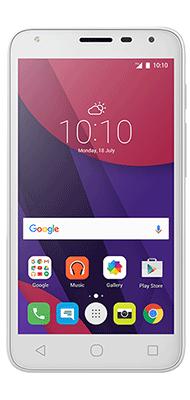 """T�l�phone Alcatel PIXI4-5"""" 3G Blanc"""