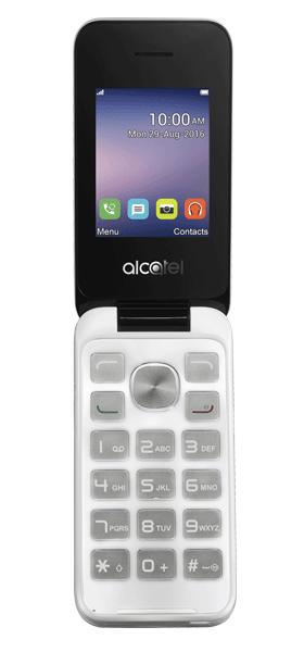 Téléphone Alcatel 20.51D Silver Comme neuf