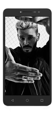 Téléphone Alcatel A3 XL Gris Sidéral