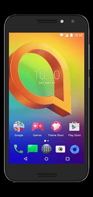 Téléphone Alcatel A3 Noir Comme Neuf