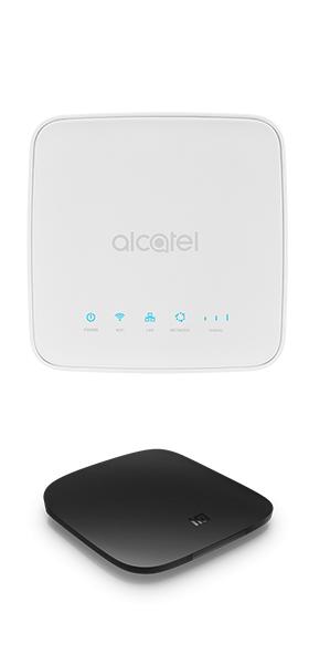Téléphone Alcatel Routeur HH40 Blanc