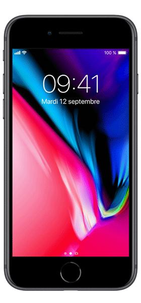 Téléphone Apple PRS Iphone 8 Excellent Etat offert + Carte SIM 10EUR