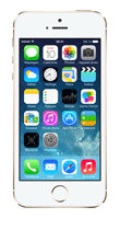 T�l�phone Apple iPhone 5s Or 16Go
