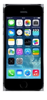 T�l�phone Apple iPhone 5s Gris 16Go
