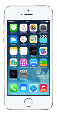 Téléphone Apple iPhone 5s Argent 16Go