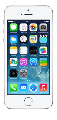 T�l�phone Apple iPhone 5s Argent 16Go