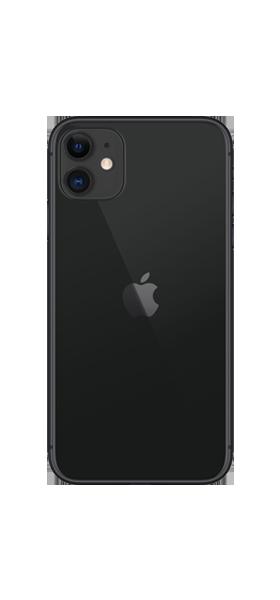 Téléphone Apple iPhone 11 64GB Noir