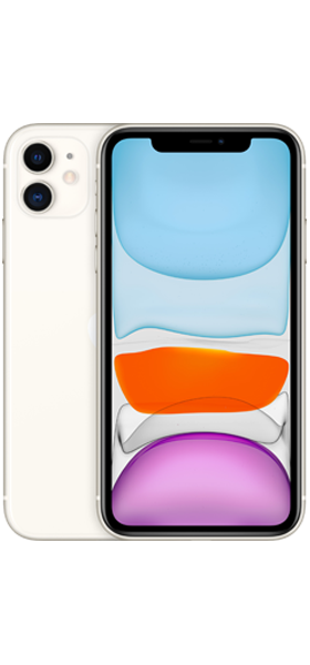 Téléphone Apple iPhone 11 64GB Blanc