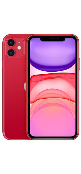 Téléphone Apple Apple iPhone 11 64GB Rouge