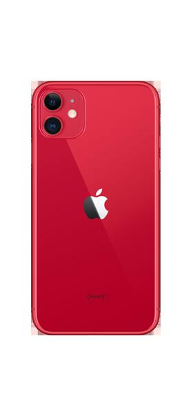 Téléphone Apple iPhone 11 64GB Rouge