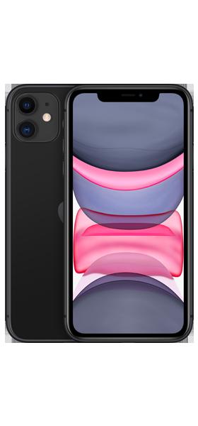 Téléphone Apple iPhone 11 128GB Noir