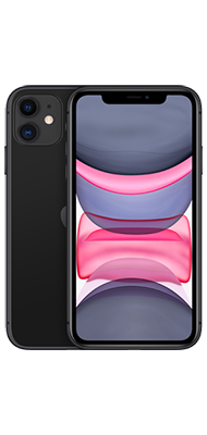 Téléphone Apple iPhone 11 128GB Noir Comme Neuf