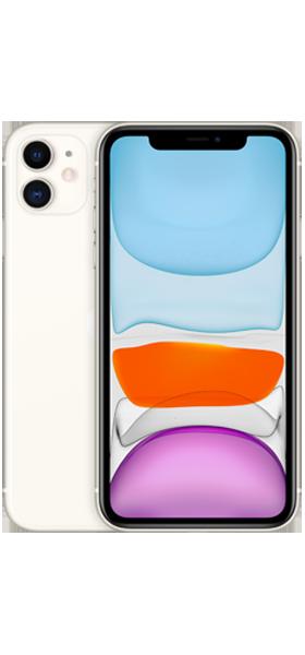 Téléphone Apple Apple iPhone 11 128GB Blanc Comme Neuf