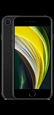 Téléphone Apple iPhone SE 64GB Noir 2020