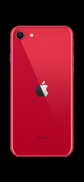 Téléphone Apple iPhone SE 64GB Rouge 2020
