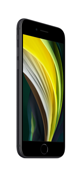 Téléphone Apple iPhone SE 128GB Noir 2020