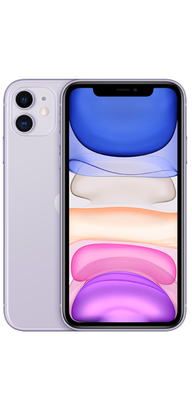 Téléphone Apple Apple iPhone 11 128G0 Violet Comme neuf