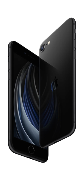 Téléphone Apple Apple iPhone SE 2020 64Go Noir SC
