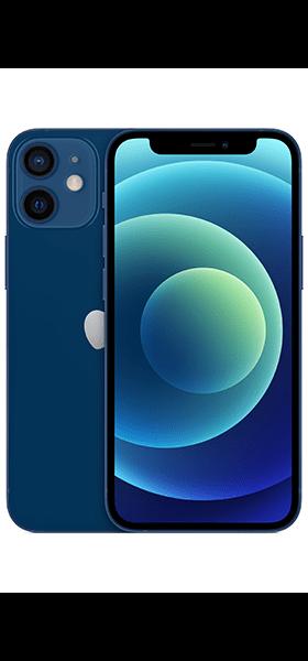 Téléphone Apple Apple iPhone 12 mini 64Go Bleu Comme neuf