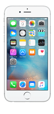 T�l�phone Apple iPhone 6s Argent 16Go