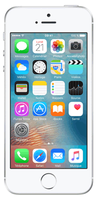 T�l�phone Apple iPhone SE Argent 16Go