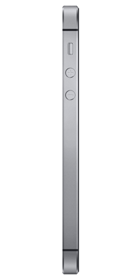 Téléphone Apple iPhone SE Gris 64Go
