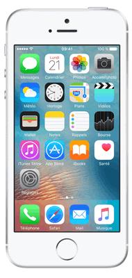 Téléphone Apple iPhone SE Argent 64Go