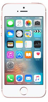 T�l�phone Apple iPhone SE Or rose 64Go