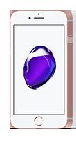 T�l�phone Apple iPhone 7 Or Rose 32Go