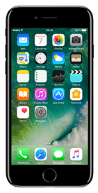 T�l�phone Apple iPhone 7 Noir de Jais 128 Go