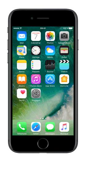 Téléphone Apple Apple iPhone 7 Noir 256 Go