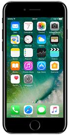 T�l�phone Apple iPhone 7 Noir de Jais 256Go