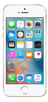 Téléphone Apple iPhone SE Or 64Go Comme neuf