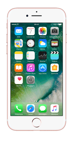 Téléphone Apple Apple iPhone 7 Or Rose 32Go Comme Neuf