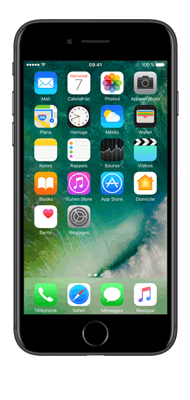 Téléphone Apple iPhone 7 Noir 256 Go Comme Neuf