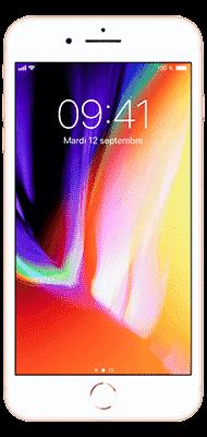 Téléphone Apple iPhone 8 Plus 64Go Or