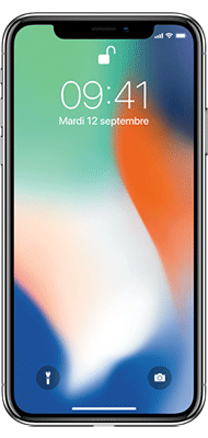 Téléphone Apple iPhone X 64Go Argent