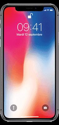 Téléphone Apple iPhone X 64Go Gris Sidéral