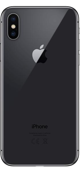 Téléphone Apple iPhone X 64Go Gris Sideral