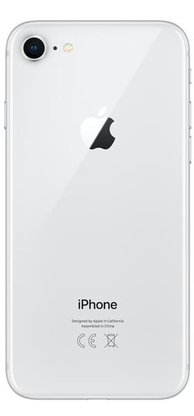Téléphone Apple iPhone 8 256Go Argent Comme Neuf