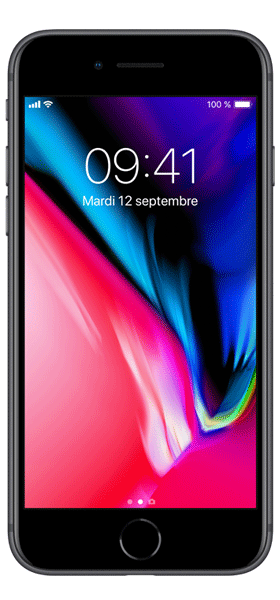 Téléphone Apple iPhone 8 64Go Gris Sideral Comme Neuf