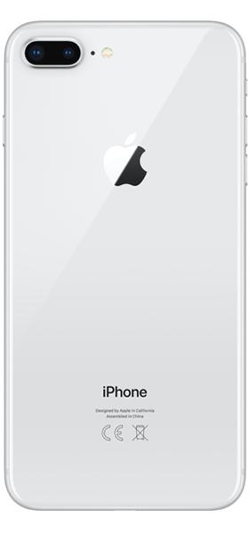 Téléphone Apple iPhone 8 Plus 64Go Argent Comme Neuf
